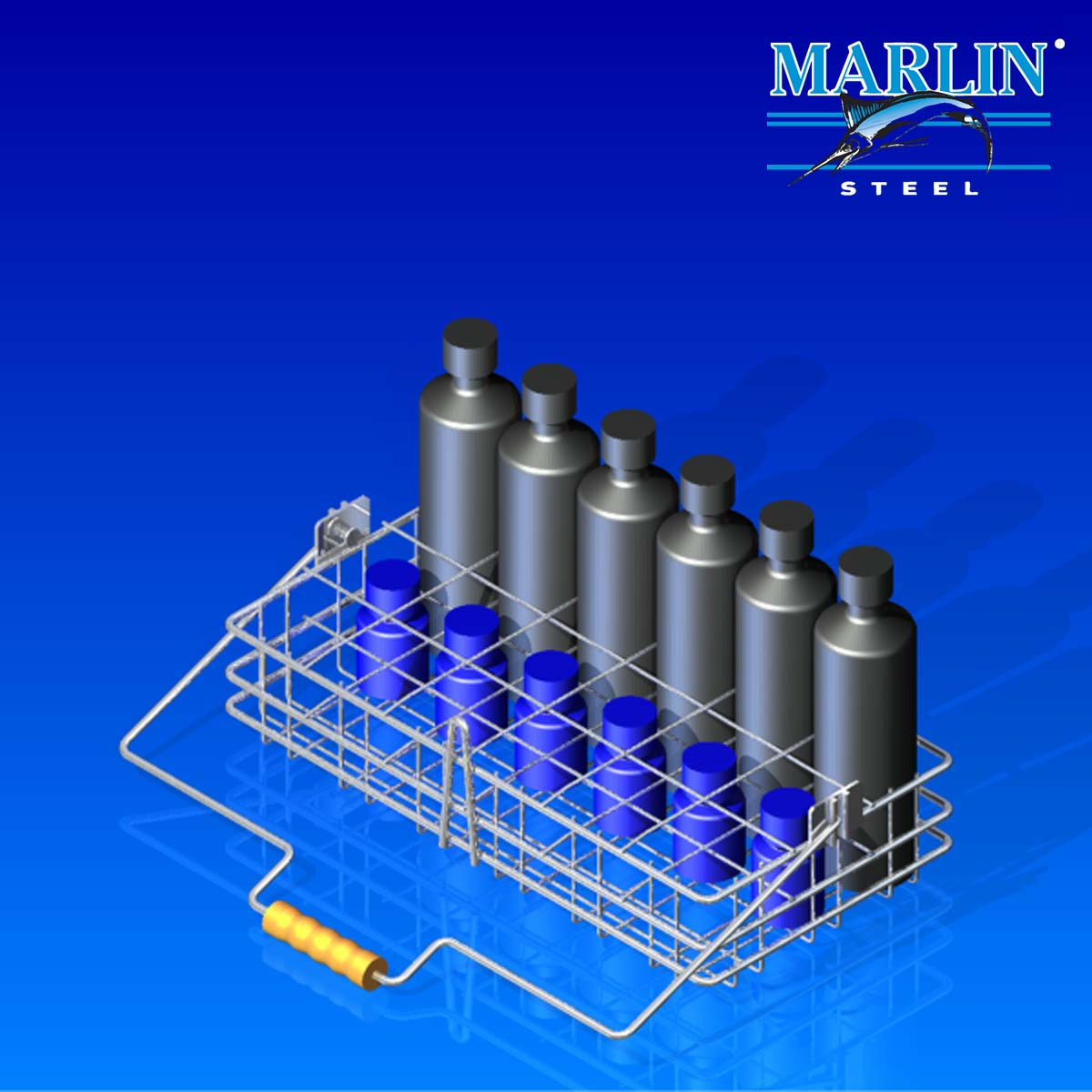 Wire Cleaning Baskets Marlin Steel